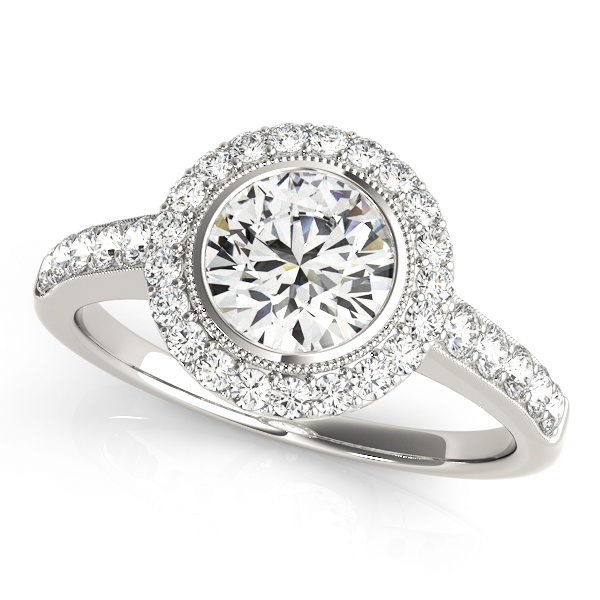 Engagement Rings Sterns: David Stern Jewelers Halo 50282 E