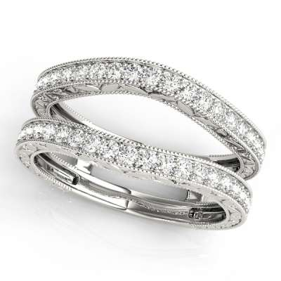 Wraps & Insert Wedding Rings