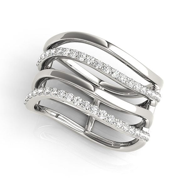 David Stern Jewelers 14kt White Gold 3/8 ct tw Ring